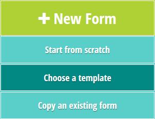 Choose a template