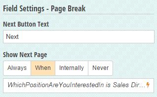 Multi-page branching