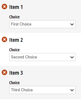 Set a field's default value to change based on the item number.